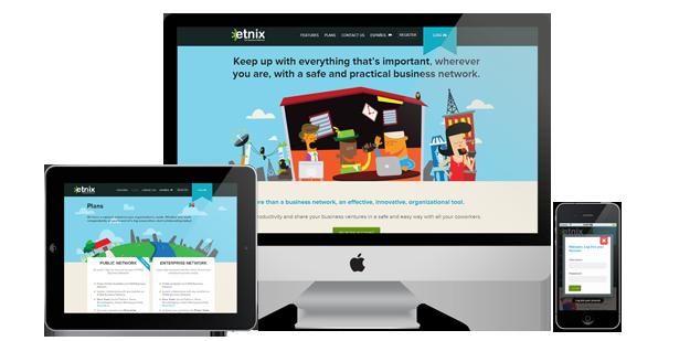 Nuevo proyecto: Etnix.com