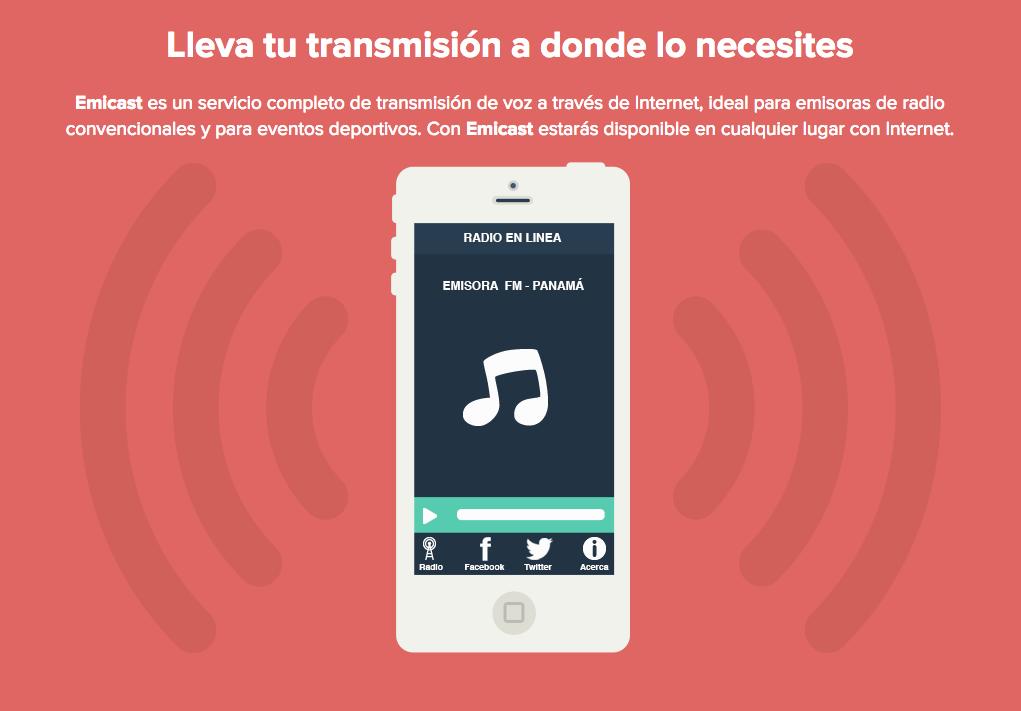 Presentamos Emicast: lleva tu transmisión convencional a Internet y móviles