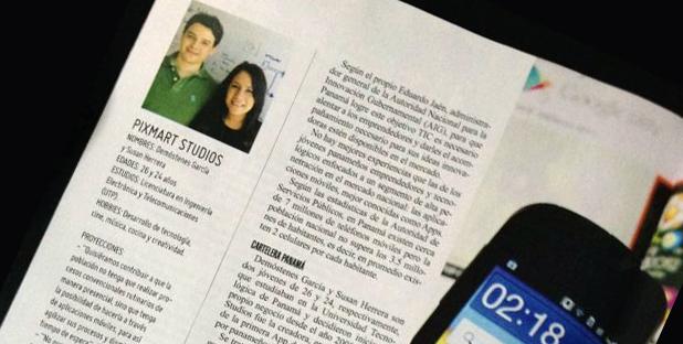 """Reconocidos en la revista """"Portada"""" de Octubre"""